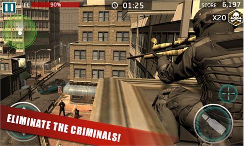 SWAT Crime Sniper 2