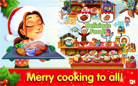 Emily's Christmas Cooking Game 6