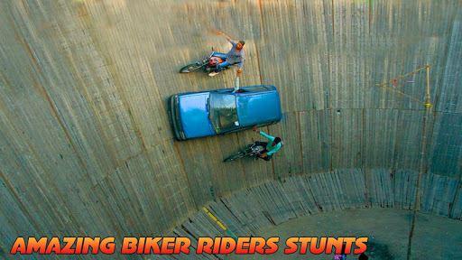 Well Of Death Car Stunt Rider 1