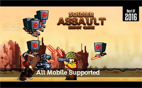 Soldier Assault Shoot Game 4