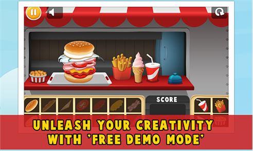Chef Hamburger Maker 3