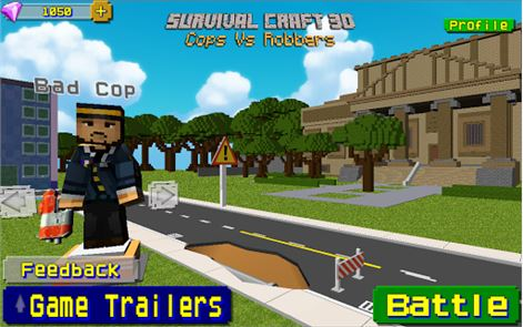 Cops Vs Robber Survival Gun 3D 1
