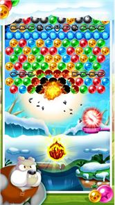 Witch Cat Pop Bubble Shooter 5