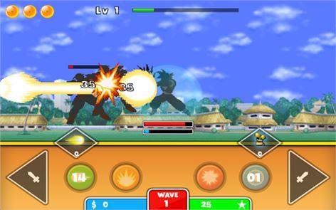 Goku Saiyan Warrior 1