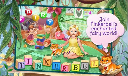 Tinkerbell Dress Up & Story 4