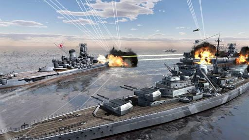 World Warships Combat 1