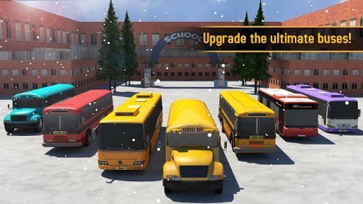 School Bus 3D 4