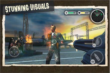 Zombie Combat: Trigger Call 3D 2