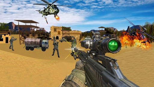 Sniper Desert Action 1