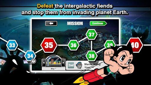 Astro Boy Siege: Alien Attack 5