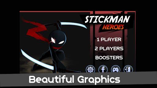 Stickman Warriors Heroes 1