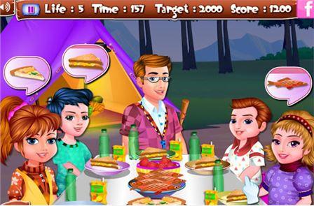 Arietta's crazy team camping 4