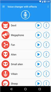 Voice changer with effects 4