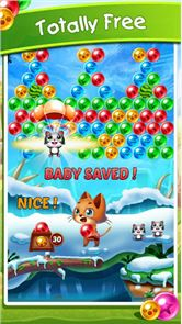 Witch Cat Pop Bubble Shooter 1