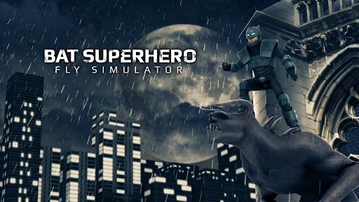 Bat Superhero Fly Simulator 4