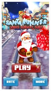 Santa Runner :Xmas Subway Surf 1