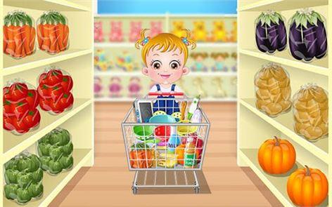Baby Hazel Kitchen Time 1