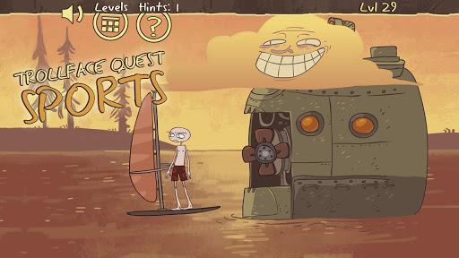 Troll face Quest Sports 3