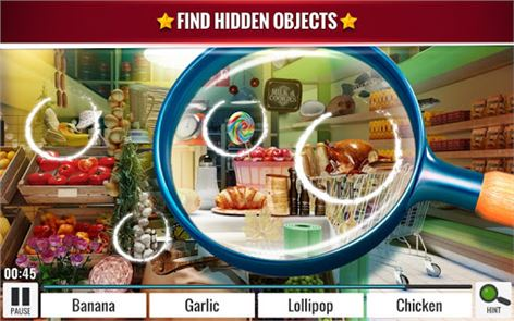 Hidden Objects Grocery Store 1