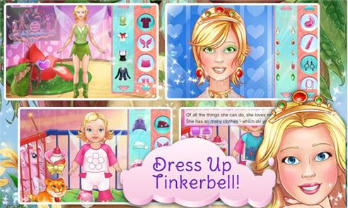 Tinkerbell Dress Up & Story 2