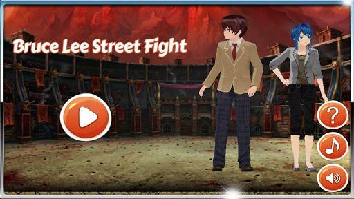 Bruce Lee Street Fight 1