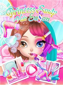 Princess Sandy-Hair Salon 4