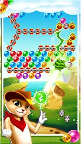 Witch Cat Pop Bubble Shooter 6
