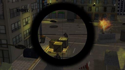 Army Sniper Duty Street War 3