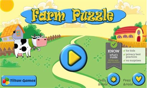 Farm Animal Puzzles for Kids 6