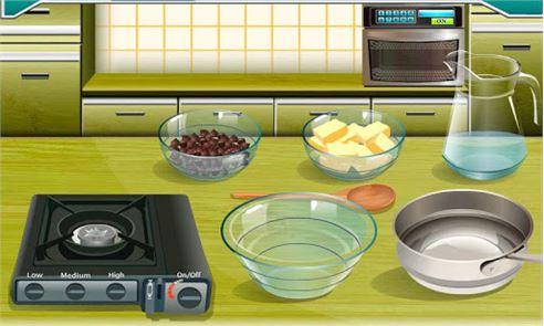 Brownies Cooking 1