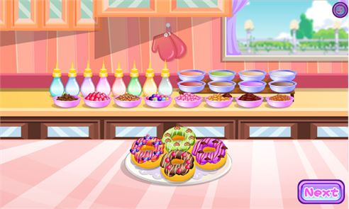 Donuts cooking games 6