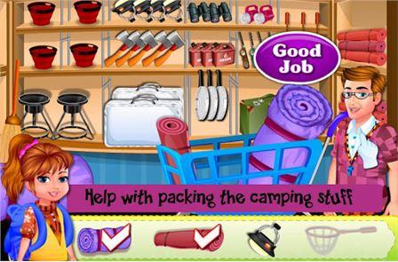 Arietta's crazy team camping 1