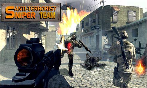 Anti-terrorist Sniper Team 4