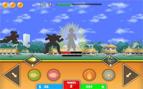Goku Saiyan Warrior 2