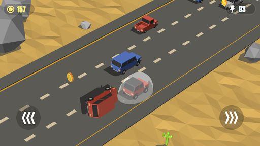 Blocky Cars: Traffic Rush 1