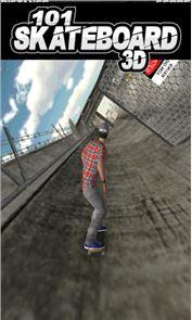 101 Skateboard Racing 3D 2