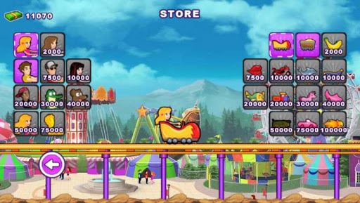 Roller Coaster : Thrill Rush 2