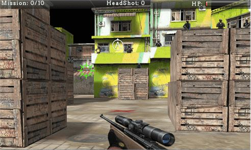 Urban Sniper Shooter 3