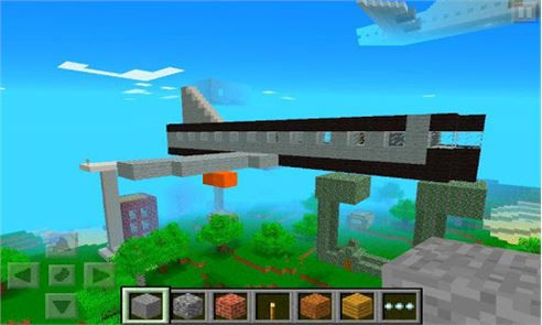 Airplane Ideas MCPE Mod 4