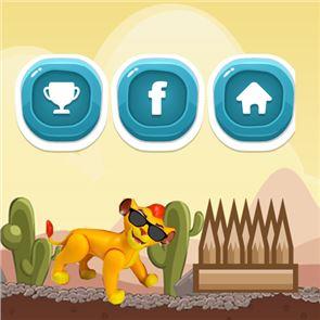 Lion Running Free Game 3