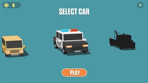 Blocky Cars: Traffic Rush 4