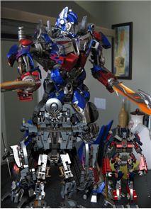 Toy Optimus Prime Puzzle Games 2