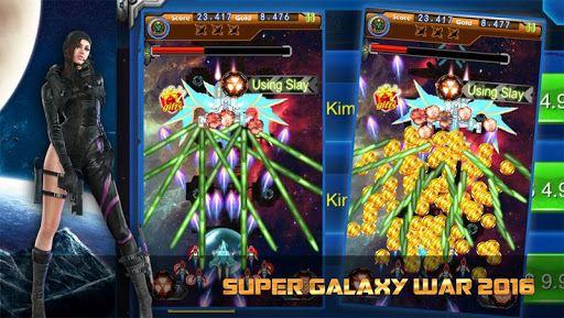 Space Galaxy War 1