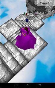 Cinderella 3D. Road to Castle. 2