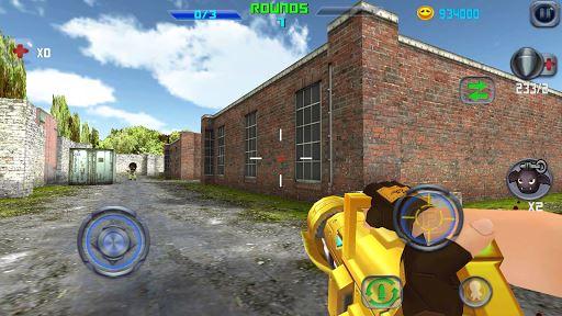 Gun Shoot War Q 4