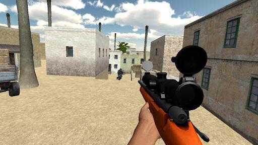 SWAT Sniper Team 4