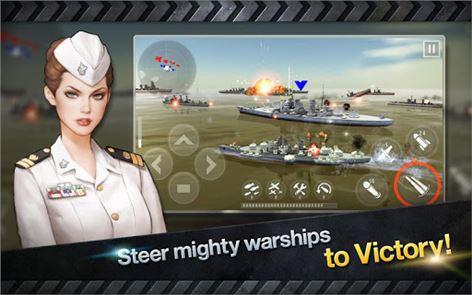 WARSHIP BATTLE:3D World War II 5