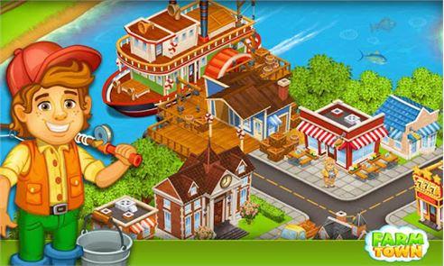 Farm Town:Happy City Day Story 5