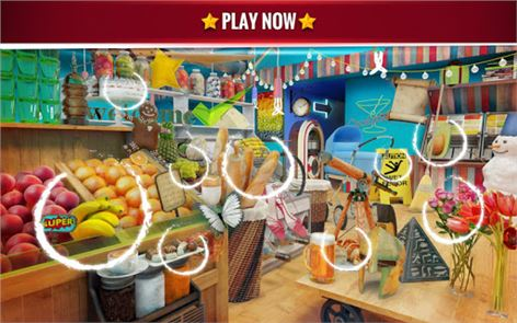 Hidden Objects Grocery Store 4