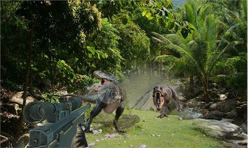 Dino Hunter at Mountains 1